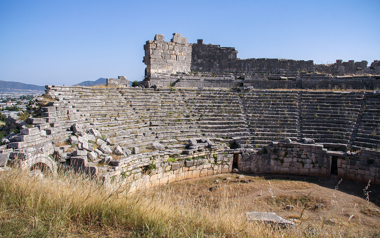 about xanthos ancient city