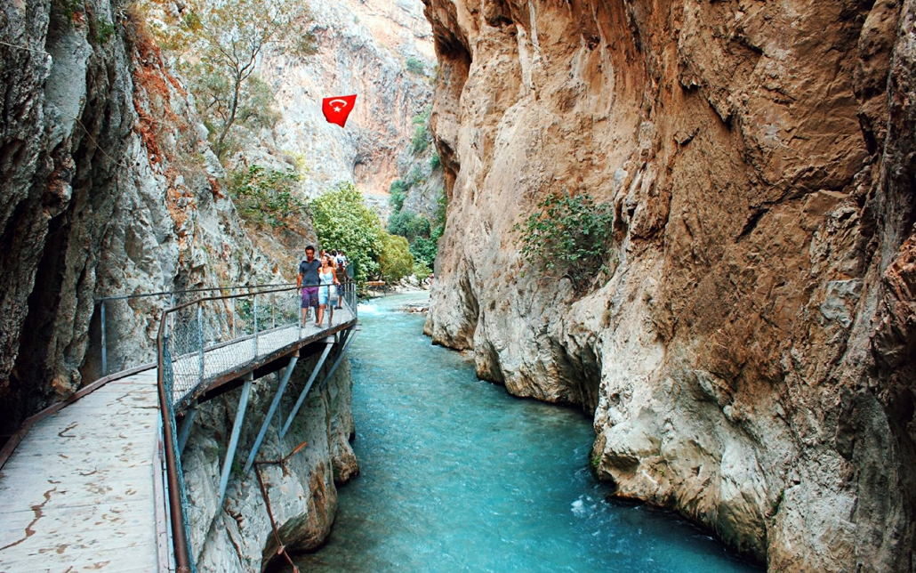 Saklikent Gorge Turkey