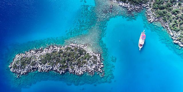 Kaş Tekne Turları: Kekova Tekne Turu Özel